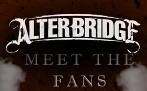 Alter Bridge: A Tribute to Our Fans!