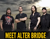 Meet Alter Bridge and win a signed PRS guitar!