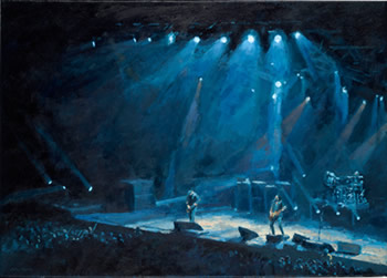 Alter Bridge Show Painting!