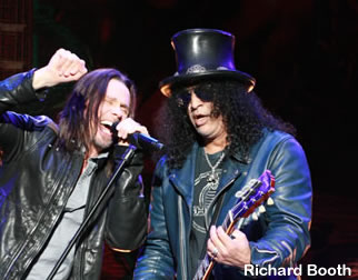 Slash/Myles & the Conspirators Ireland dates for 2013