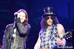 Myles with Slash and the Conspirators UK tour!