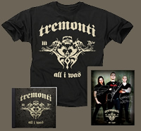 Special Tremonti Project CD Pre-Sale Packages!