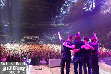 Alter Bridge Nottingham Oct 13
