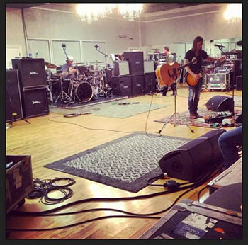 Fortress tour rehearsals!