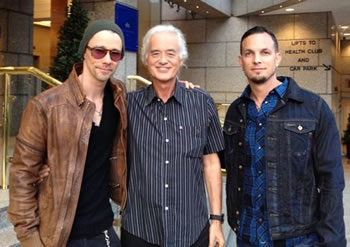 Myles & Mark meet Jimmy Page!