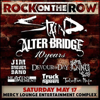 Alter Bridge: Rock on the Row!