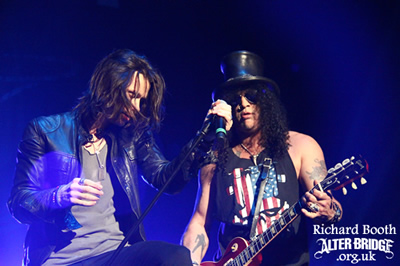Myles Slash Glasgow Show Photos