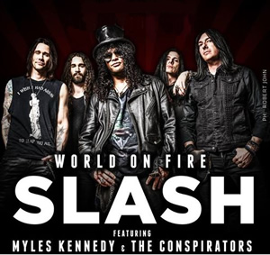 Myles, Slash & Conspirators tour begins!