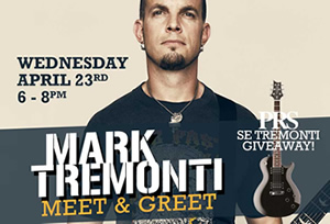 Mark Tremonti Meet & Greet!