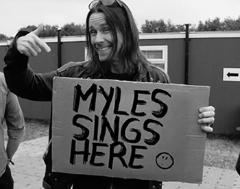 Myles Kennedy Black and White Single Feb 15