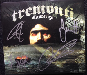 Win a signed copy of 'Cauterize'!