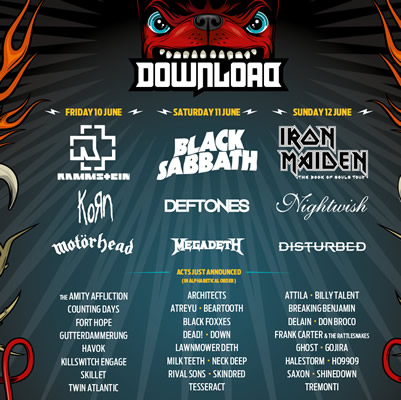 Tremonti to Play Download 2016!