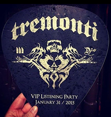 Tremonti II listening party Feb 1, 2015