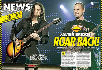 AB in latest issue of Kerrang!