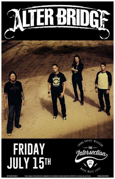 Alter Bridge headline summer show!