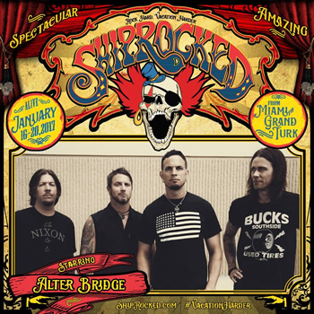 Alter Bridge for Shiprocked!