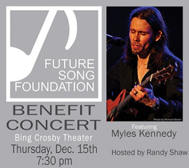 Myles Kennedy Future Song Benefit 15 Dec 2016