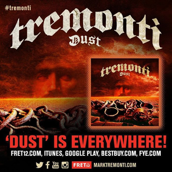 Tremonti: 'Dust' out now!