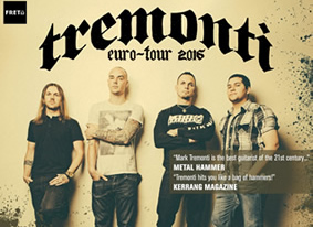 Tremonti: Germany Dates!