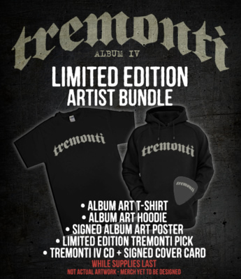Tremonti IV - Pre-order Packages!