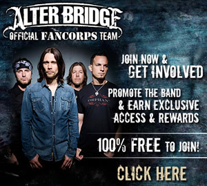 Join Alter Bridge Fancorps!