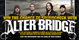 Meet Alter Bridge Competition